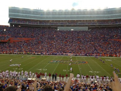 Night Game in the Swamp