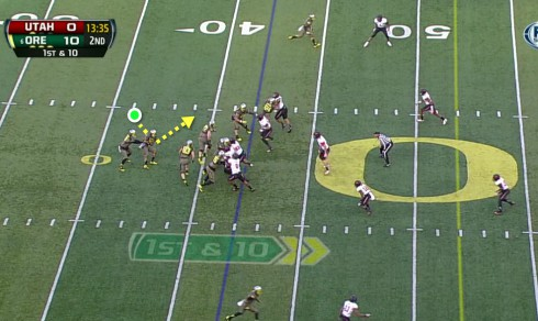 Offsetting the Inside Zone Read