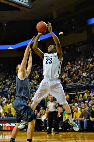 Cook was one of many Ducks with fast break point opportunities.