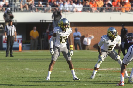 Troy Hill will challenge to start at cornerback.