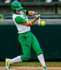 Alexa Peterson is fourth in the Pac 12 with 57 RBI.