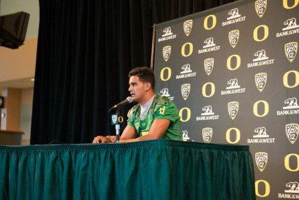 Mariota a leader on and off the field.