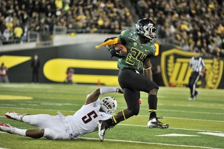 Kenjon Barner was just another back that proved the legitimacy of the program.