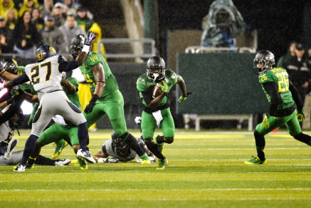 As it currently stands, Marshall is projected to be the starting running back.
