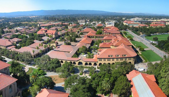 "Leland Stanford Junior University.  Yep, it's a ""junior college."""