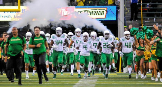 Oregon started their season off with a band