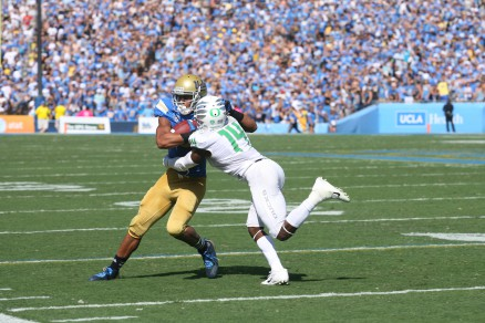 Escape from LA--Ifo and the Ducks wrap up the win Pasadena.