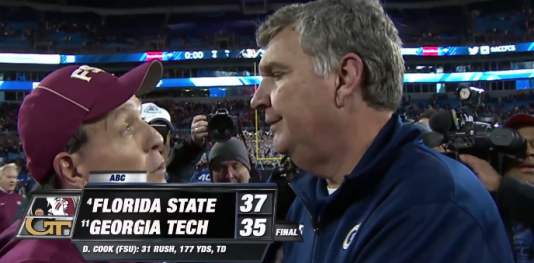 Florida State barely held on to beat Georgia Tech in the ACC Championship game.