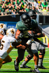 The Ducks will miss Tyner's strength and versatility next season.