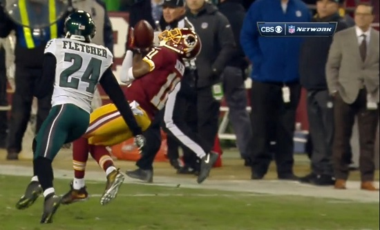 DeSean burns Bradley Fletcher the first time