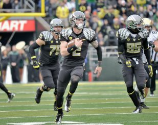Former Oregon backup quarterback Bryan Bennett transferred to Southeastern Louisiana without a lapse in eligibility.