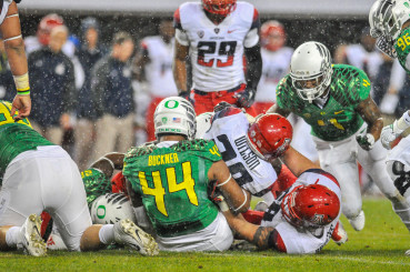 The Oregon defense had its best game in the Pac-12 Championship game against Arizona.