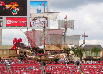 With their ship out of water, the Bucs are going nowhere.