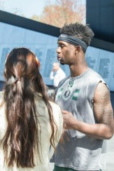 DB Chris Seisay could serve as a possible leader in the DB group heading into the future.