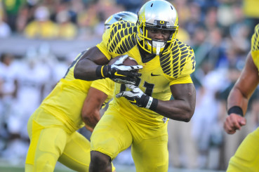 Freeman made himself a household name with his performance against the Spartans of Michigan State.