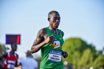 Cheserek Winning One of Two Outdoor National Titles