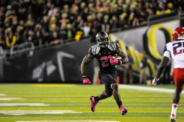 Royce Freeman will head the Oregon rushing attack in '15 after a stand-out freshman campaign.