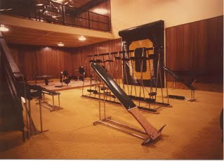 Early Oregon weight room