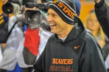 Mike Riley is likeable fellow and had a great time in Corvallis.