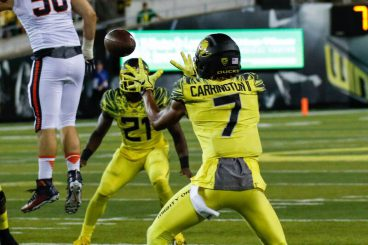 Carrington is an important piece of Oregon's offensive production