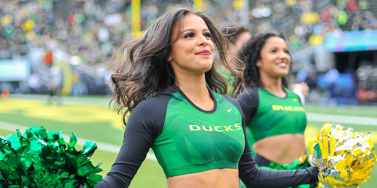 Tag: Oregon cheerleaders | FishDuck